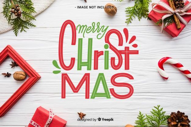 150+ Free Christmas Graphics: Fonts, Images, Vectors, Patterns & Premium Bundles - merry christmas lettering