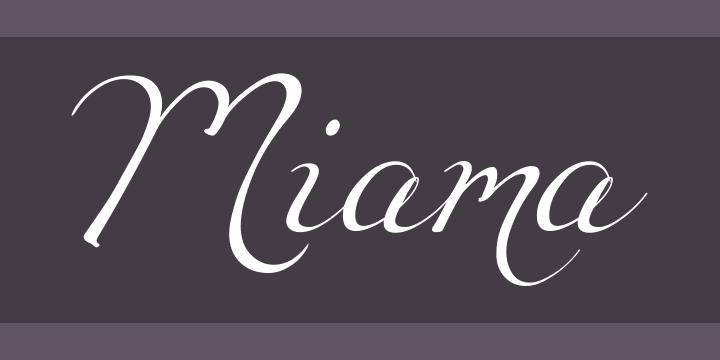 135+ Best Script Fonts in 2020. Free and Premium - miama