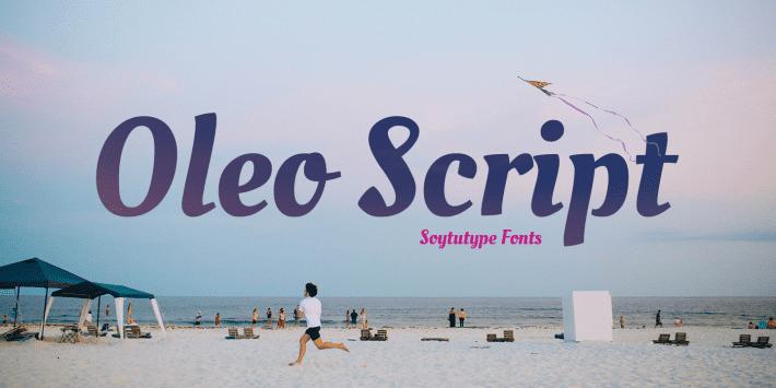135+ Best Script Fonts in 2020. Free and Premium - oleo script