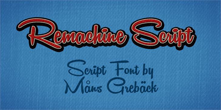 135+ Best Script Fonts in 2020. Free and Premium - remachine script