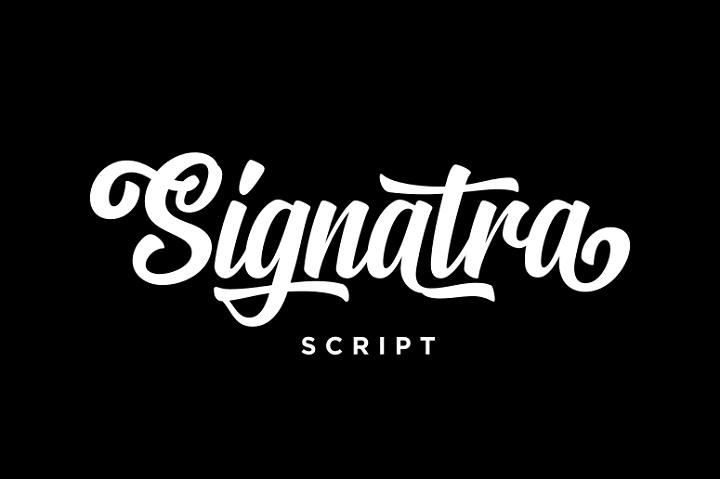 135+ Best Script Fonts in 2020. Free and Premium - signatra