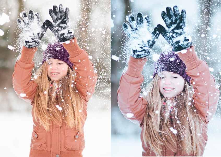 150+ Free Christmas Graphics: Fonts, Images, Vectors, Patterns & Premium Bundles - snow preset1