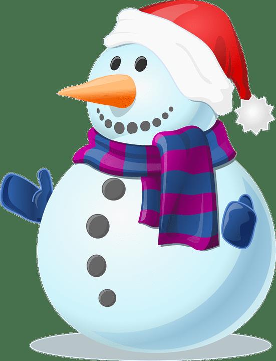 150+ Free Christmas Graphics: Fonts, Images, Vectors, Patterns & Premium Bundles - snowman