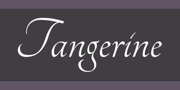 135+ Best Script Fonts in 2020. Free and Premium - tangerine