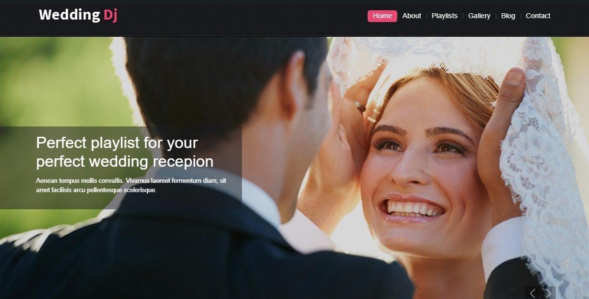 35+ Best Wedding & Dating Website Templates in 2019 - 48491 big