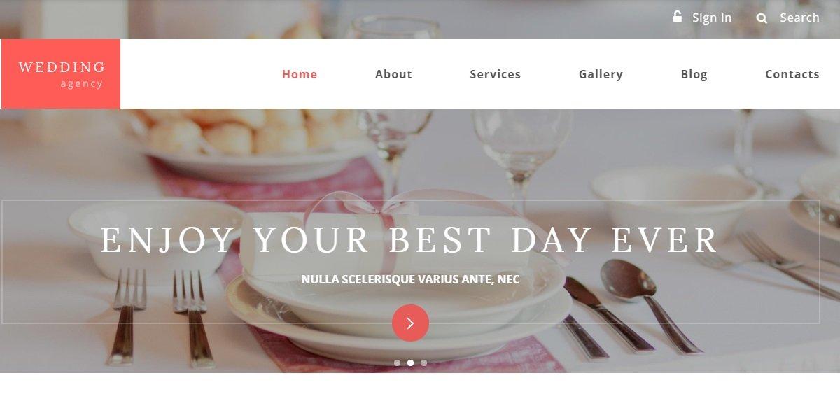 35+ Best Wedding & Dating Website Templates in 2019 - 55366 big