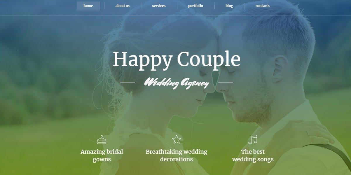 35+ Best Wedding & Dating Website Templates in 2019 - 59221 big