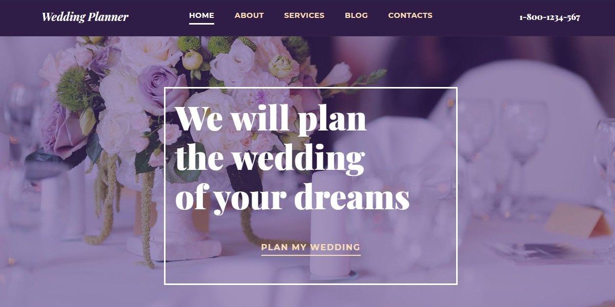 35+ Best Wedding & Dating Website Templates in 2019 - 59472 big