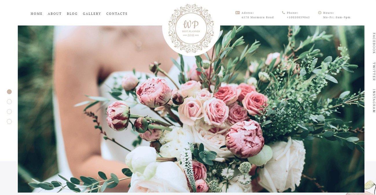 35+ Best Wedding & Dating Website Templates in 2019 - 69993 big