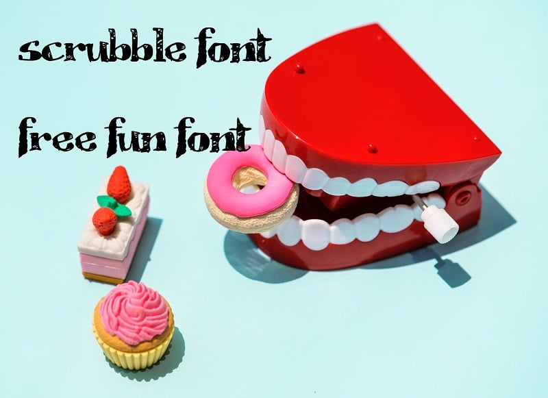 60+ Fun Fonts: Best Free and Premium Funny Fonts - fun fonts03
