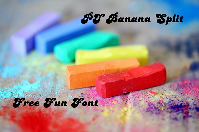 60+ Fun Fonts: Best Free and Premium Funny Fonts - fun fonts06