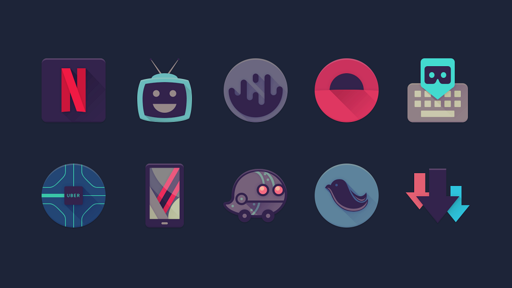 Top 14 Free Icon Packs To Spice Up Your Design - [Icon Sets + Android Icon Packs Compilation] - icon pack09