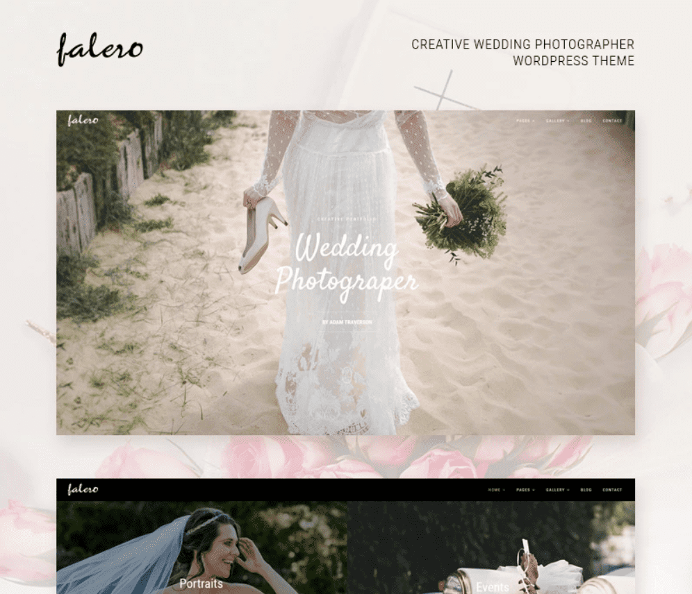 This beautiful theme will simply take your breath away.