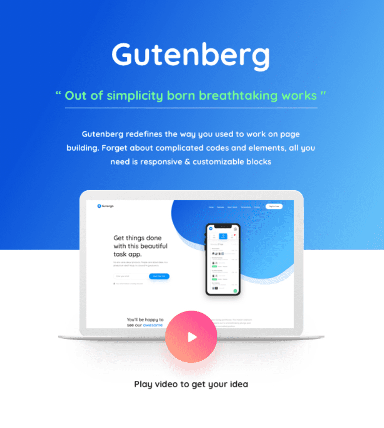 30+ WordPress Gutenberg Themes 2020 - image12 4