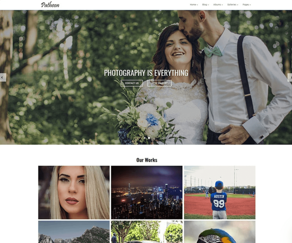 This theme breathtakingly beautiful with powerful functionality.