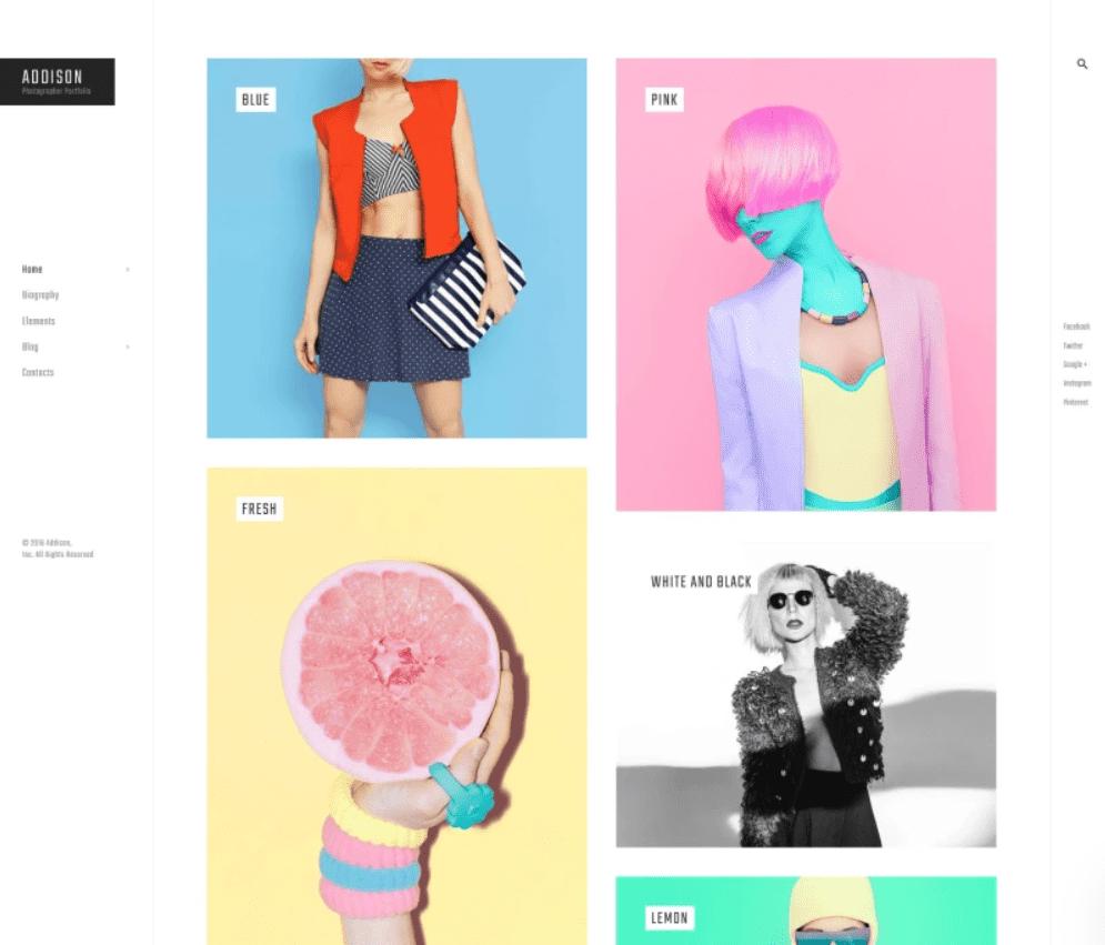 Defiantly but tastefully. A fresh design for your website.