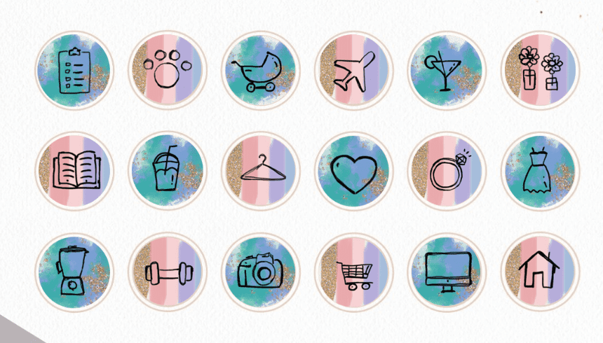54+ Instagram Highlight Icons