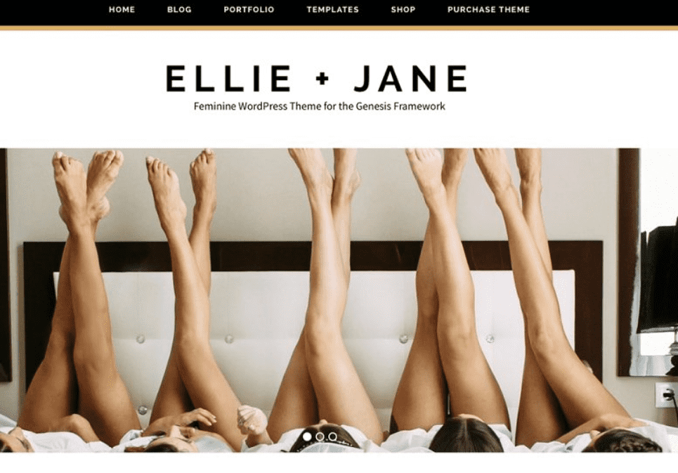 Mood - girls-party. If you want website like a Vogue, Ellie Jane is a perfect variant for it.