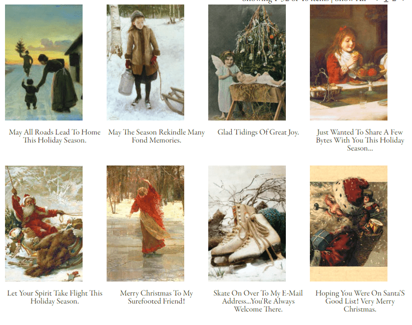 16+ Free Services with Printable Christmas Cards 2020 - victoriantradingco