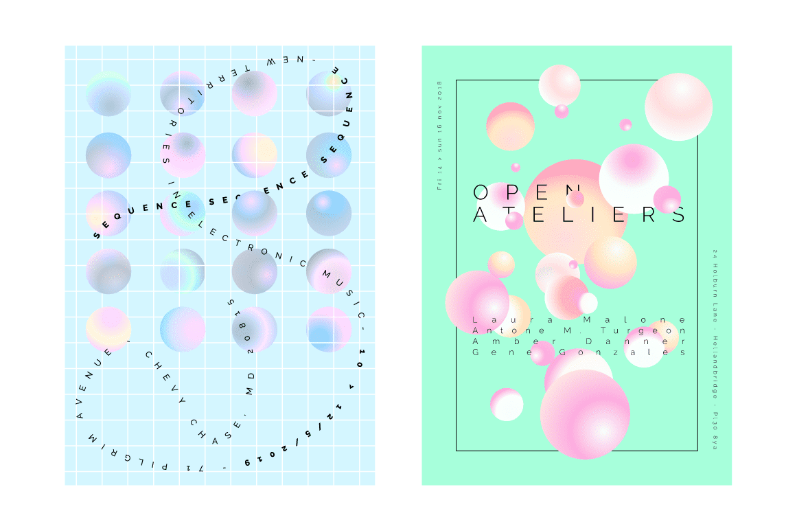 Holographic Pastel & Neon Spheres - Artboard 1 copy 3A