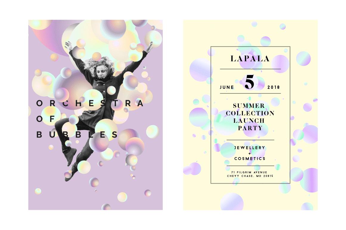 Holographic Pastel & Neon Spheres - Artboard 1 copy 5A