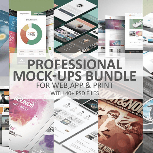 Professional Mock-Ups Bundle - $20 - Preview1 1 490x490