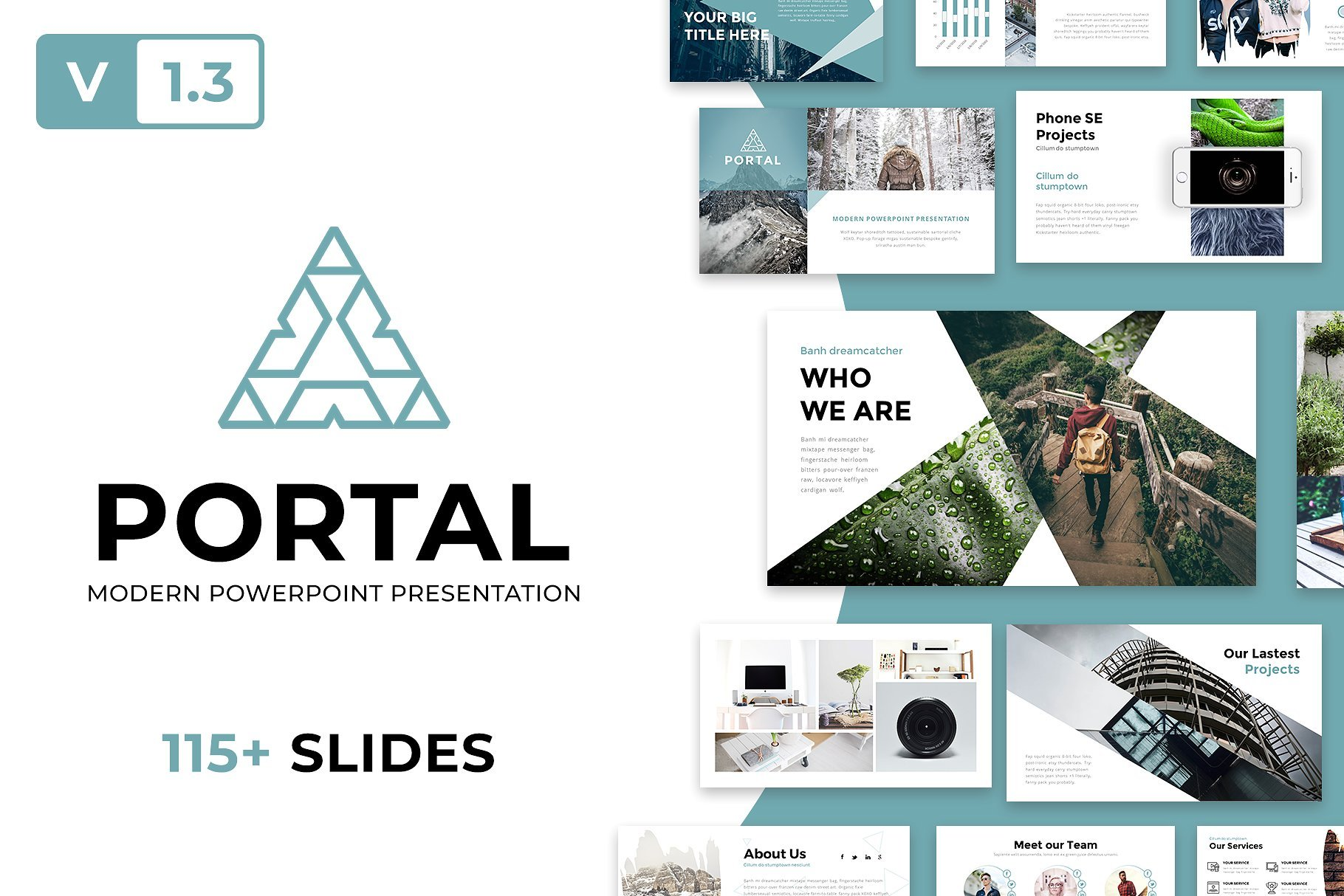 50 Creative PowerPoint Templates in 2020: Free And Premium. Best Creative Presentation Ideas - cm cover portal