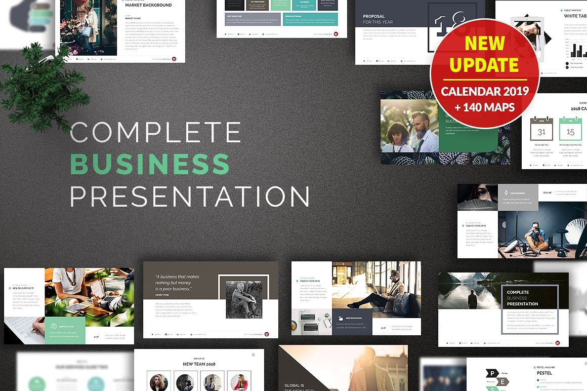 50 Creative PowerPoint Templates in 2020: Free And Premium. Best Creative Presentation Ideas - cover cm oficial update1.0