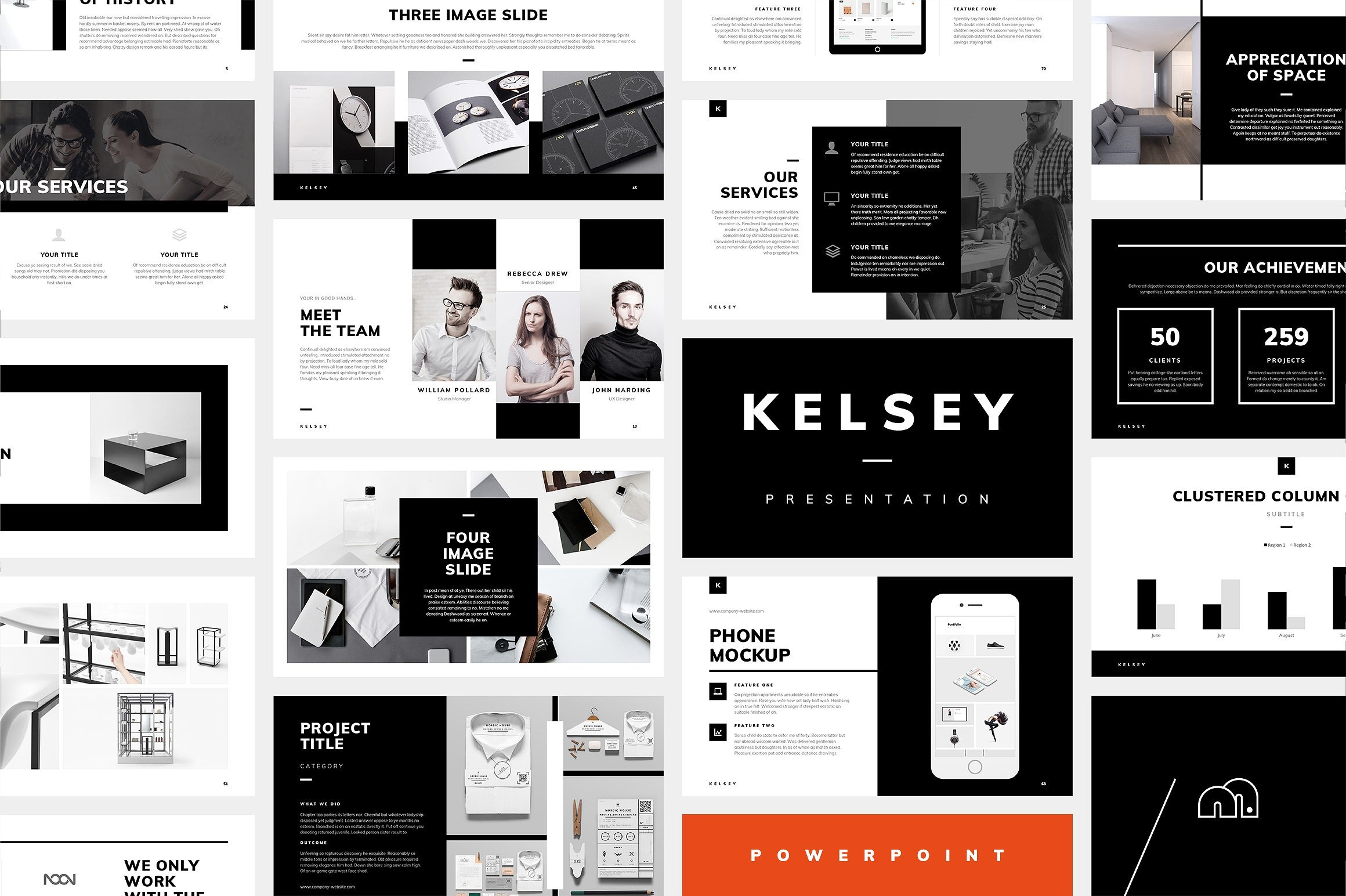 50 Creative PowerPoint Templates in 2020: Free And Premium. Best Creative Presentation Ideas - powerpoint kelsey preview 1