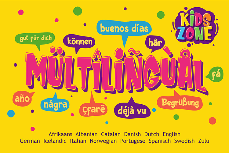 Child Handwriting Font Kids Zone  - $4 - 009 1