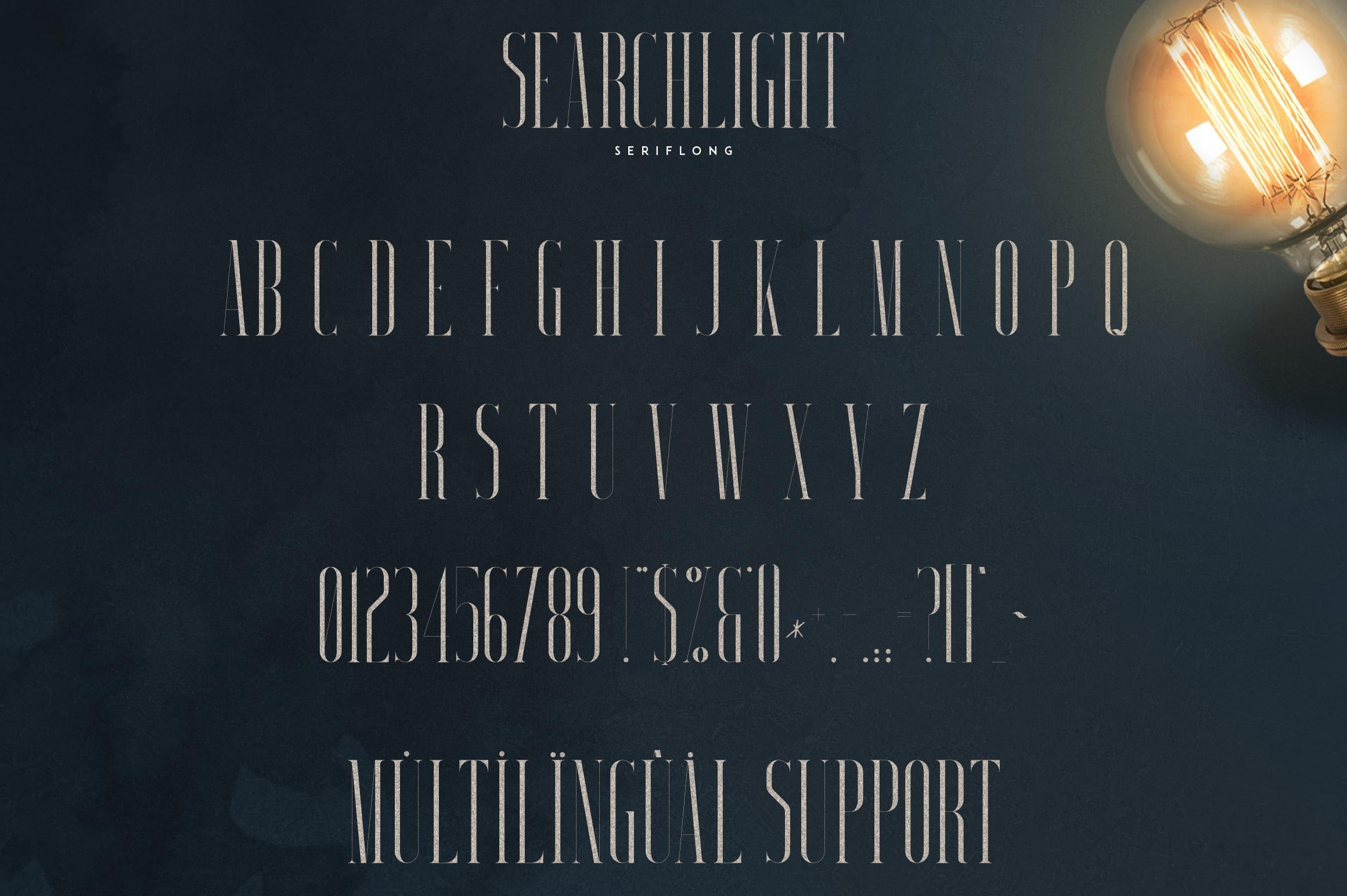 Stylish Fonts Download - Searchligth Font Trio $19 Only - 10 1