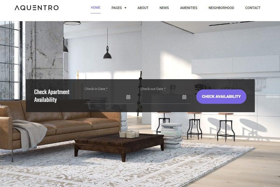 MotoPress Review 2020. Free and Premium WordPress Plugins & Themes - 10 Aquentro Hotel Booking Theme MotoPress
