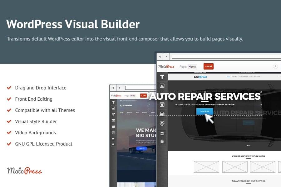MotoPress Review 2020. Free and Premium WordPress Plugins & Themes - 4 Content Editor MotoPress