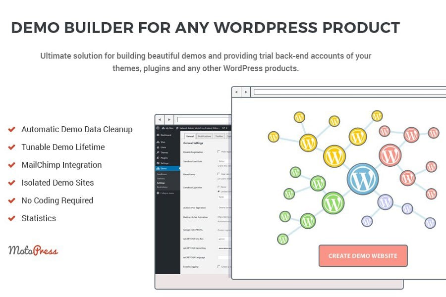 MotoPress Review 2020. Free and Premium WordPress Plugins & Themes - 6 Demo Builder MotoPress