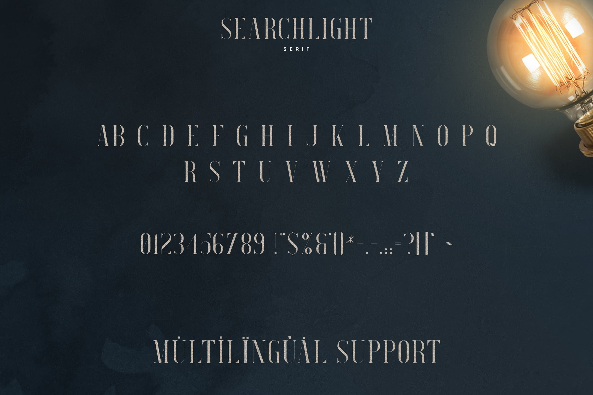 Stylish Fonts Download - Searchligth Font Trio $19 Only - 9 2