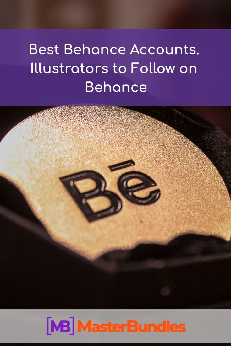 Best Behance Accounts. Pinterest Image.