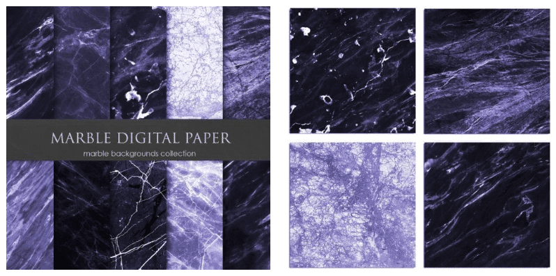 Marble backgrounds in dark purple shades with dim blotchiness.