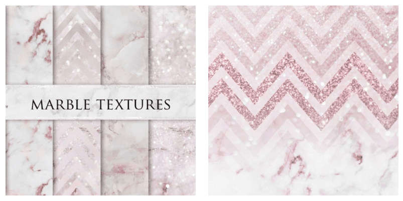 Marble pink texture with the geometrical pattern and blotchiness.