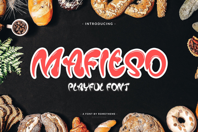 Playful Fonts - Exclusive Font Bundle - 30 Items for $15 - 01 7
