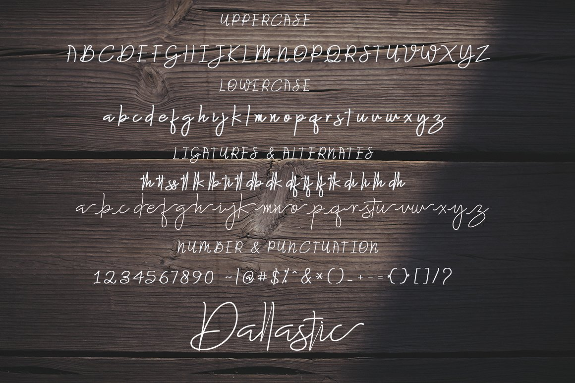 The Amazing Font Bundle - 8 Typefaces $8 only - 5