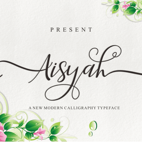 20 Stunning Fonts Bundle - $20 - Aisyah 1 490x490
