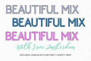 Love Amsterdam - Modern Handwritten Typeface - $10 - Love Amsterdam 9 300x200