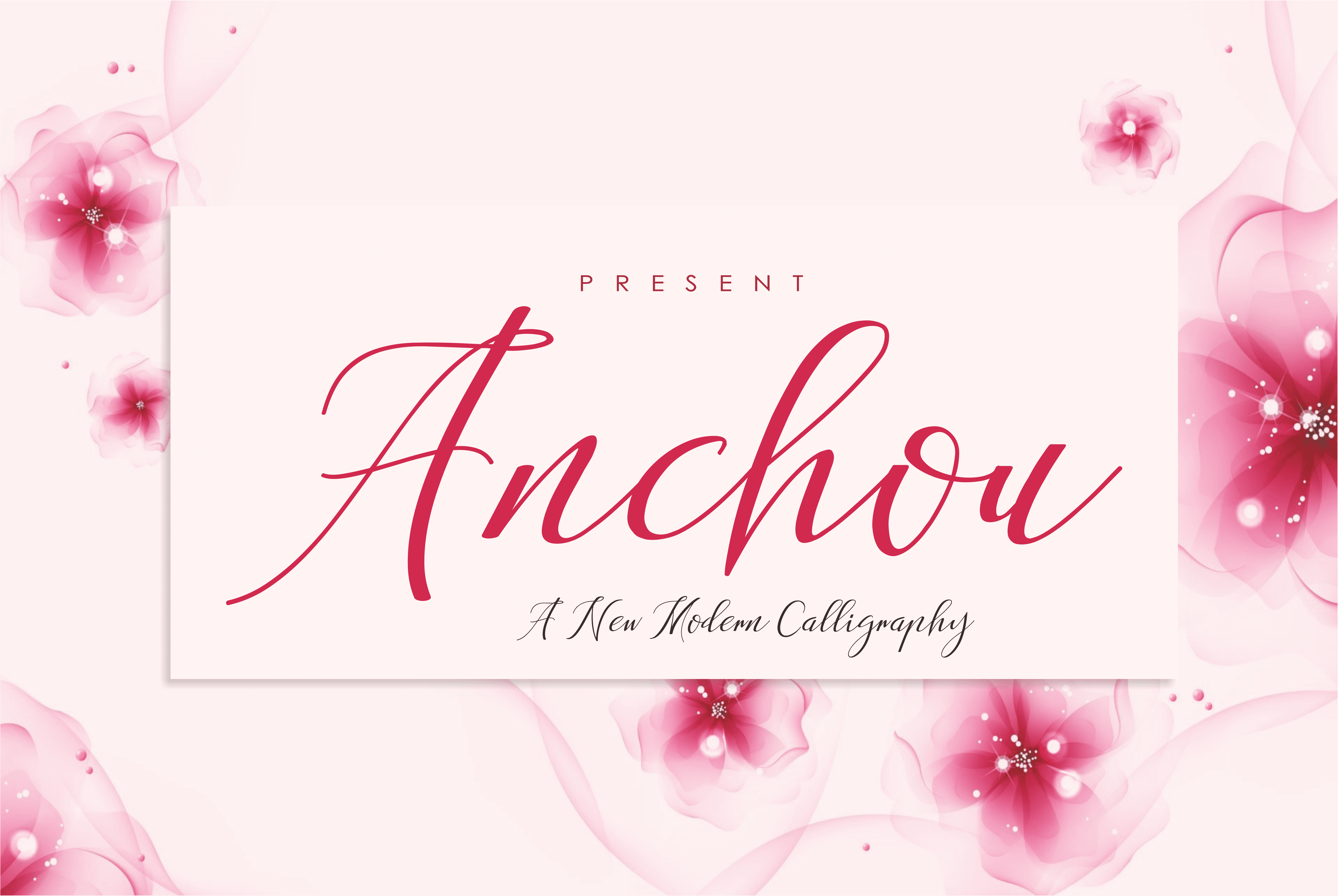 Anchou Beautiful Handwriting Font - $2 - View1