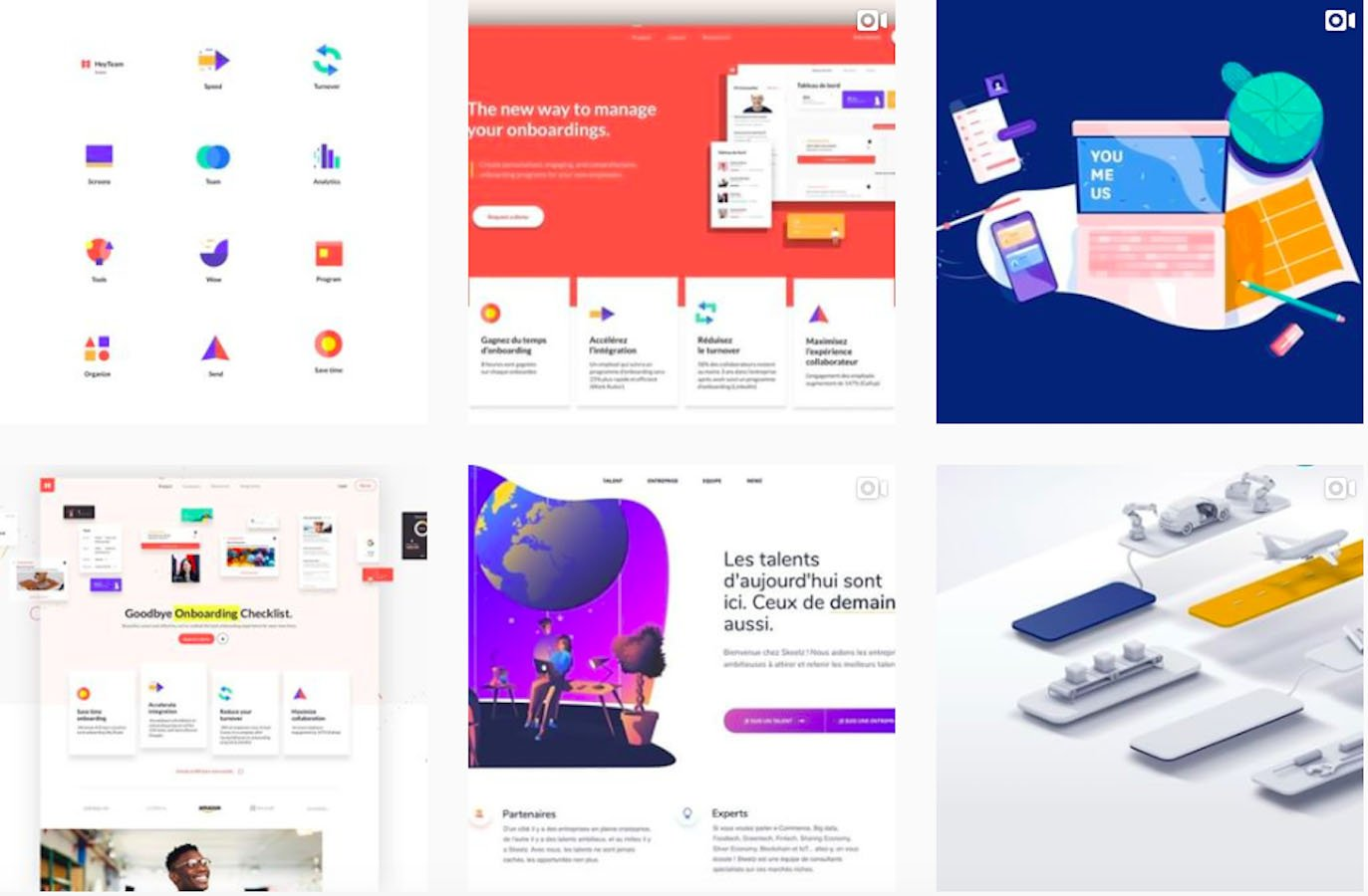 Web Design Inspiration: 110+ Accounts On Instagram and 10+ Best UX & Web Design Books in 2020 - agenceme