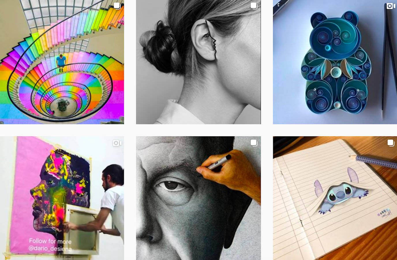 Web Design Inspiration: 110+ Accounts On Instagram and 10+ Best UX & Web Design Books in 2020 - art whisper
