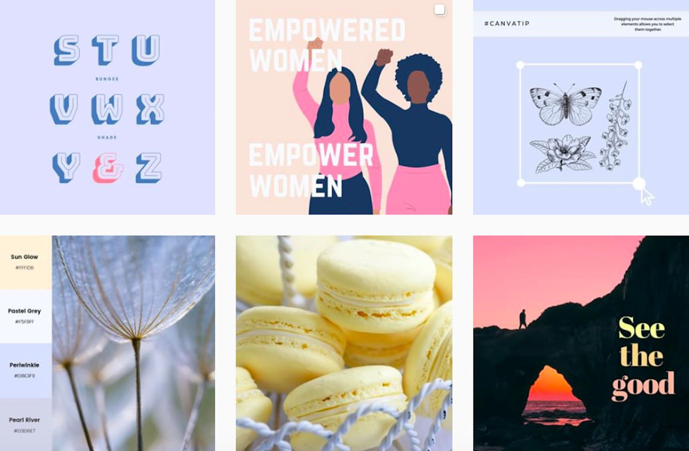 Web Design Inspiration: 110+ Accounts On Instagram and 10+ Best UX & Web Design Books in 2020 - canva