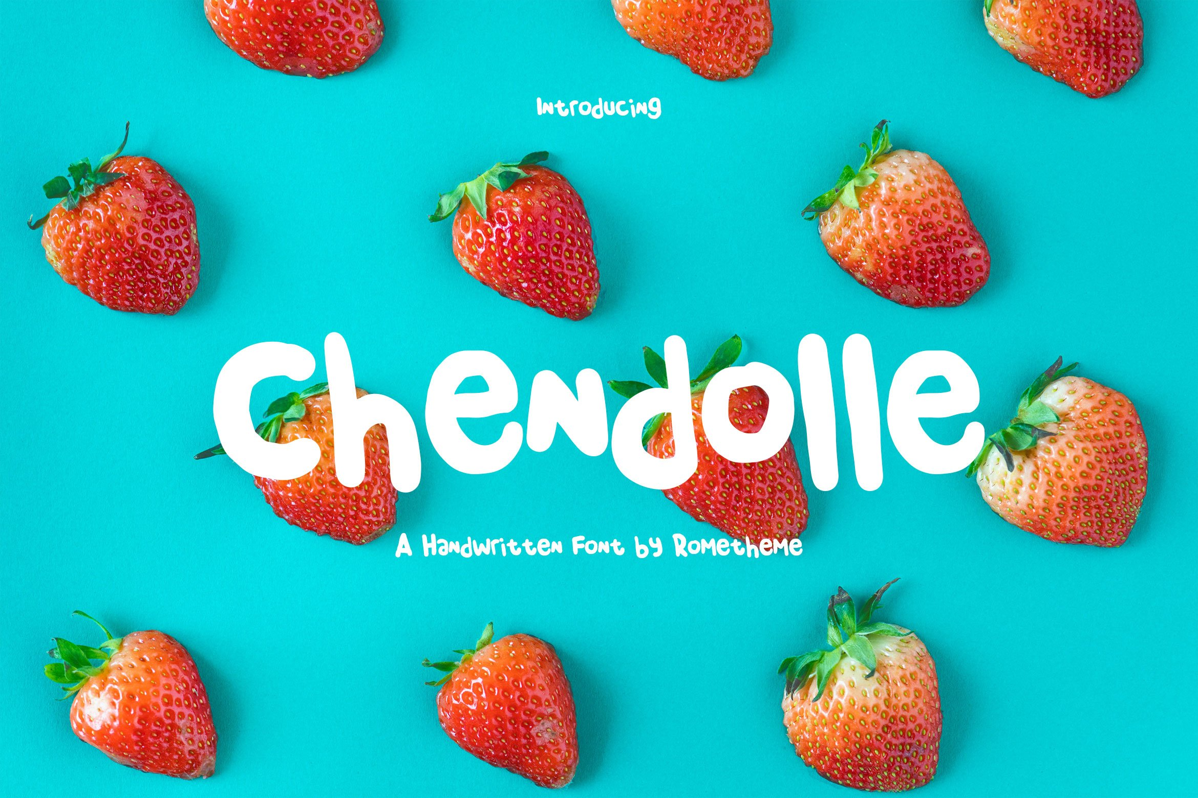 Playful Fonts - Exclusive Font Bundle - 30 Items for $15 - cover 7