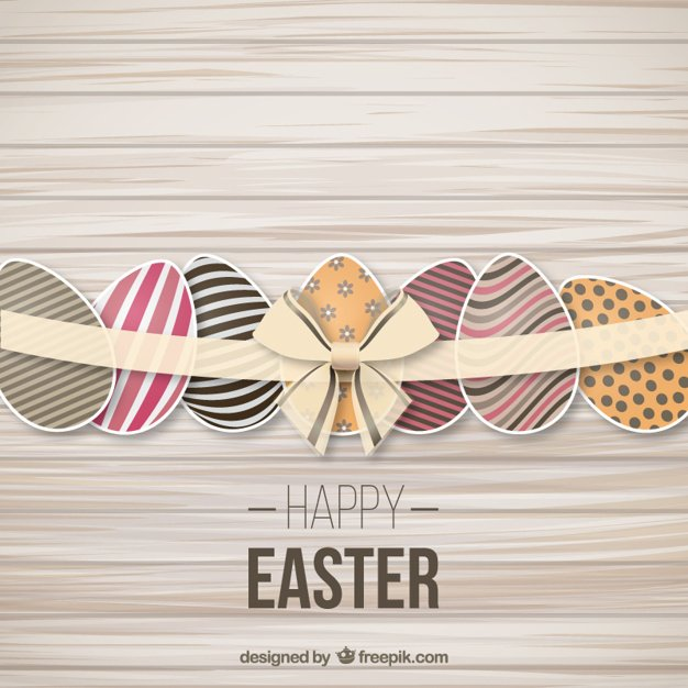 220 Best Easter Graphics in 2020: Free & Premium - decorated easter eggs with ribbon 23 2147505546