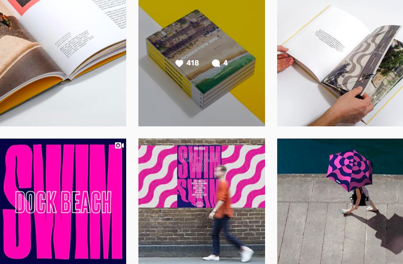 Web Design Inspiration: 110+ Accounts On Instagram and 10+ Best UX & Web Design Books in 2020 - dnco