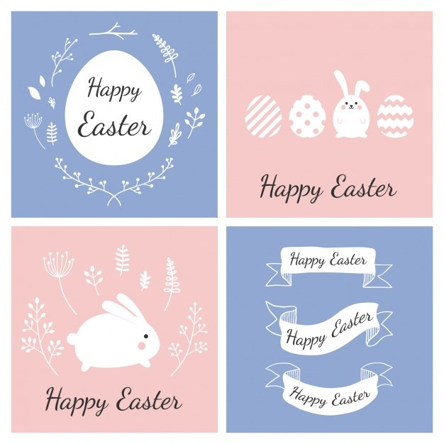 220 Best Easter Graphics in 2020: Free & Premium - easter cards collection 1133 351